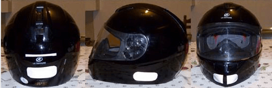 autocollants casque