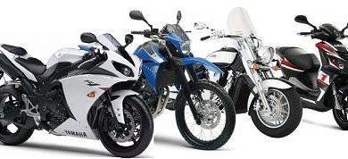 tous les types de moto