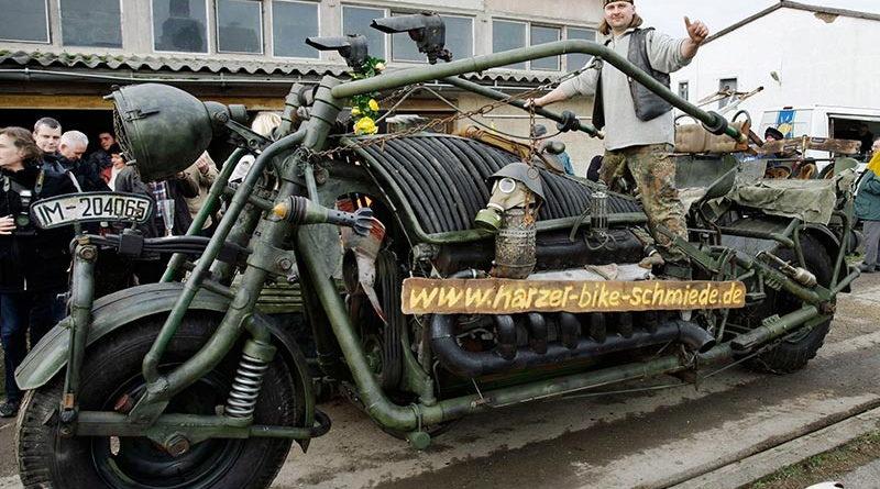 moto la plus lourde au monde