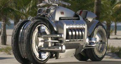 Tomahawk Dodge moto la plus chère et rapide