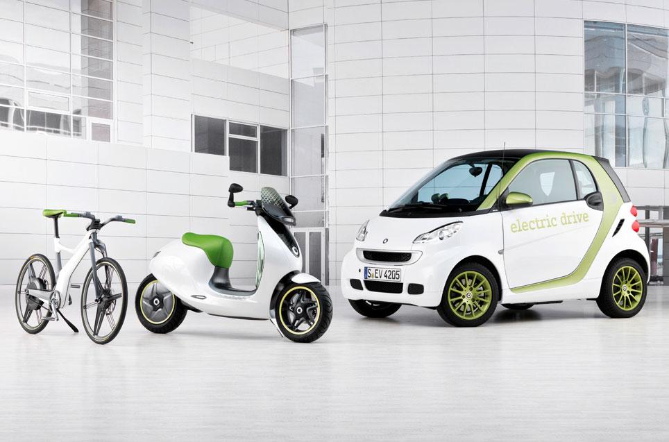 scooter électrique gamme smart
