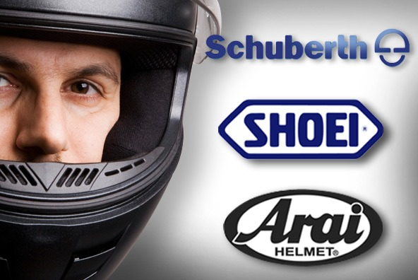 shoei arai schuberth