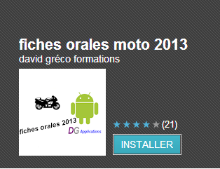 fiches motos 2013 smartphones android