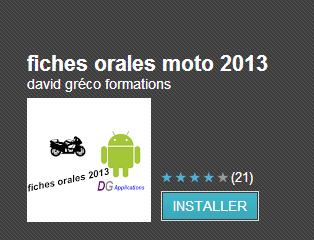 les 12 fiches motos 2013 pour smartphones android et iphone. Black Bedroom Furniture Sets. Home Design Ideas