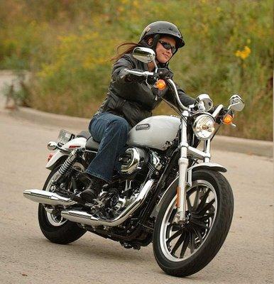 coupe cheveux femme moto
