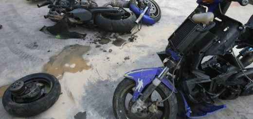 accident scooter 125cm3