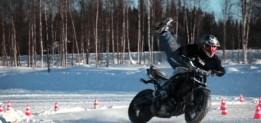 permis moto en hiver