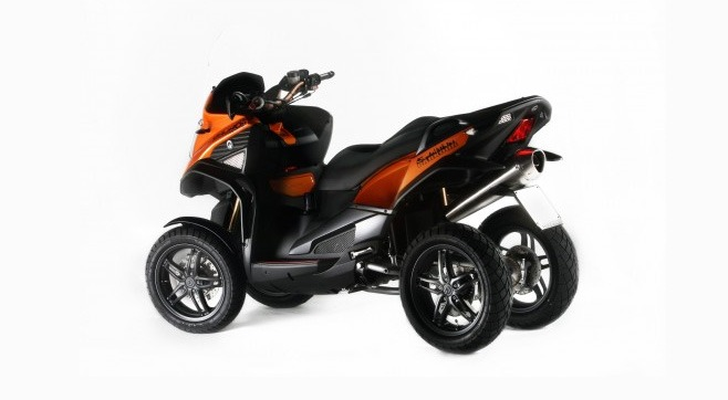 scooter 4 roues quadro
