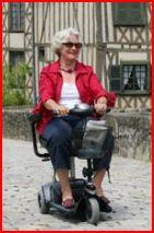 scooter senior electrique petites roues