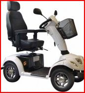 scooter senior grandes roues