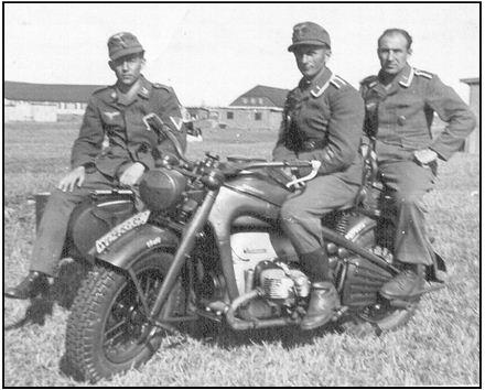 Zundapp KS750 moto allemande
