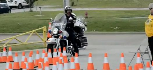 Plateau moto police USA