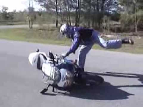chute moto