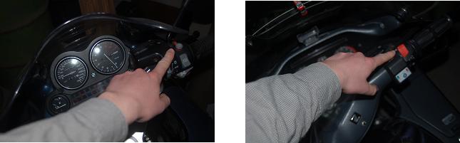 coupe circuit honda et bmw moto