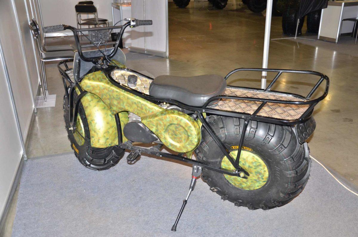 moto pliante russe