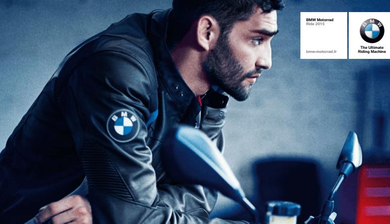 catalogue moto BMW 2015