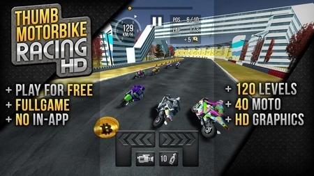 Thumb Motorbike Racing android