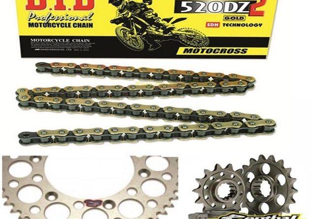 changer son kit chaîne moto