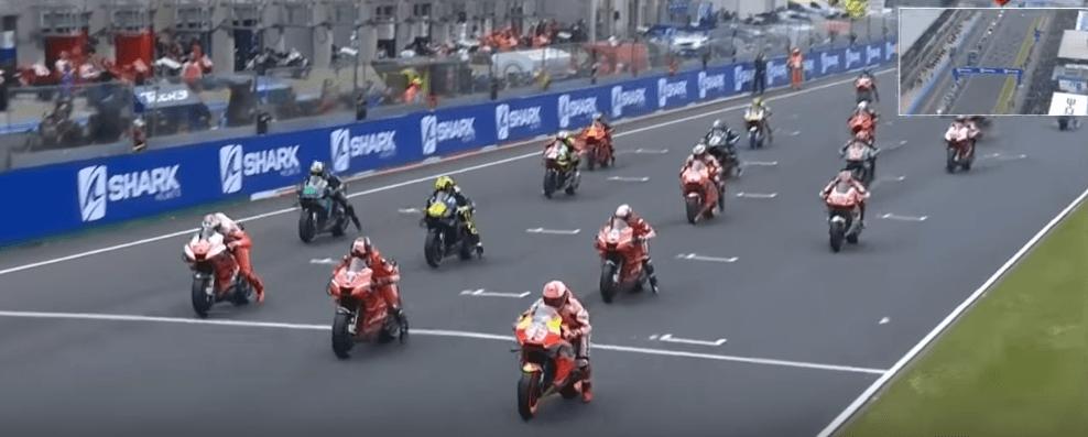 qualifications et essais libres moto GP