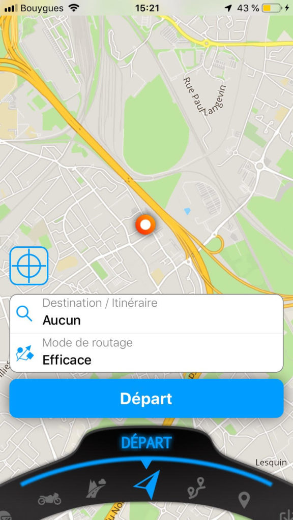 avis application gps moto